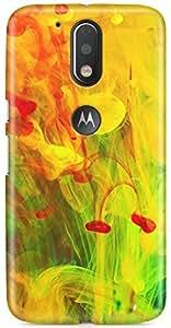 AKMOBI Designer Hard Back Case Cover For Motorola Moto G Plus 4th Gen / Moto G4