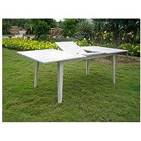 Amazon.fr : table jardin rectangulaire extensible - Tables de jardin ...