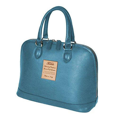 Terrida Marco Polo sac à main - LE209 (Violet) Bleu clair