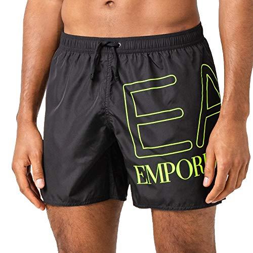 Emporio Armani EA7 Kostüm Herren Boxer Meer 902000-9P739 Schwarz - Sechs und fünfzig (Herr Sechs Kostüm)