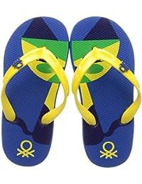 United Colors of Benetton Unisex Kid's Royal Flip-Flops-13 UK (32 EU) (17A8CFFPU160I)