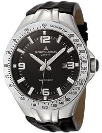 Jacques Lemans Herren-Armbanduhr Analog Automatik G-218A