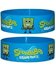 Spongebob Logo Rubber Wristband - 65Mm Diameter X 25Mm High