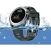 ZfgG Bluetooth Smart Watch IP68 Wasserdichte Fitness Tracker WiFi Schritt Herzfrequenz GPS Positionierung Uhr Austauschbare Strap Perfekter Wohnassistent