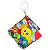 Lamaze Baby Spielzeug Farbenbuch Clip & Go - hochwertiges Kleinkindspielzeug - Baby Soft-Buch Anhänger zur Stärkung der Eltern-Kind-Beziehung - Soft-Bilderbuch Fühlbuch Knisterbuch ab 0 Monate