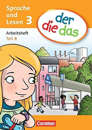 der-die-das - Sprache und Lesen: 3. Schuljahr - Arbeitsheft Sprache Teil A und B im Paket