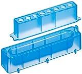 neolab 7–47558canali serbatoio PP con provette PCR per rack, Blu (Confezione da 10)