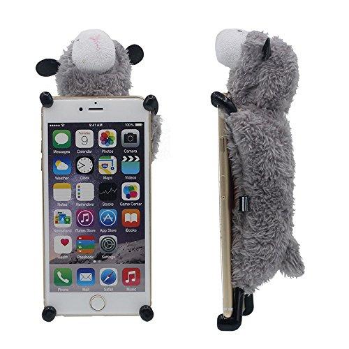 """Spécial Créatif Désign Apple iPhone 6 6S Coque Case 4.7"""" Animal Style Mignon Mouton Jouet Serie Diverses couleurs Anti Choc Housse Etui de Protection Gris"""