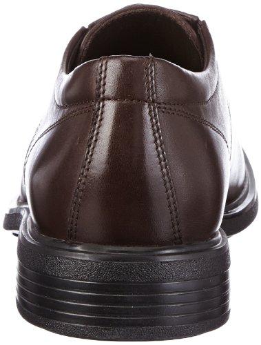 Geox U Dublin A, Scarpe Stringate Basse Oxford Uomo Marrone (Brown C6000)