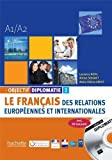 Objectif Diplomatie Niveau 1 Livre de L'Eleve CD Audio (French Edition) by Laurence Riehl (2014-12-01)