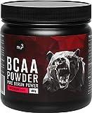 nu3 nu3 - BCAA Vegan En Poudre 400g Pastèque- Acides Aminés Pendant l'Effort Sportif Pour La Récupération