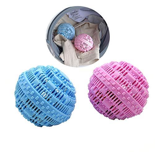 LOVEQIZI Dekontaminations-Anti-Wickel-Wäsche-Ball, Umweltfreundliche Waschball Super Wäschekugeln Dekontamination,Verhinderung von Verstrickungen in der Kleidung,bequem und praktisch,40PCS