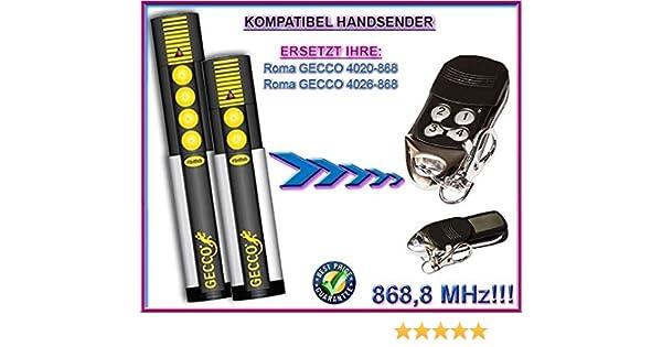 SOMMER 4026 // SOMMER 4020 kompatibel handsender 868.8Mhz rolling code ersatz fernbedienung Top Qualit/ät ersatzger/ät!!!