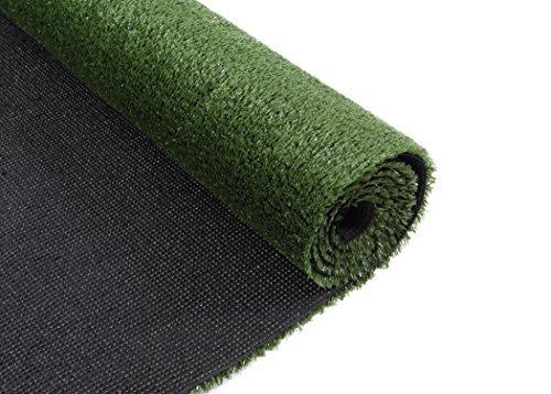 VerdeCasa naturnahe Künstliche Gras Gras Deko Synthetik-Teppich Turf 4' x 6' 4'x6' 0.39''Pile Height -
