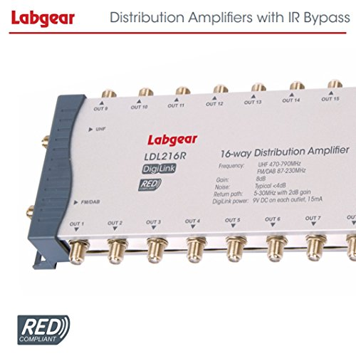 51qiPrRCRPL. SS500  - Labgear LDL216R Distribution Amplifier with IR Bypass