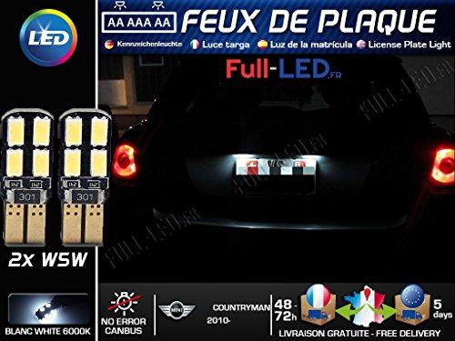2//× LED pas de porte ombre motif logo pour ONE//S//JCW R54/Clubman R55/R56/R57/R60/Countryman Lumi/ère laser