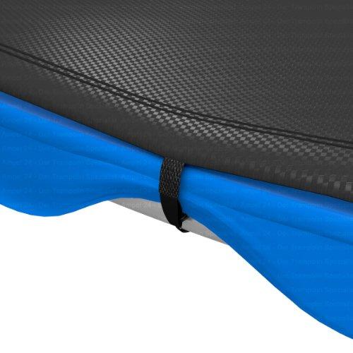 Ampel 24 Trampolin Abdeckplane | Wetterschutzplane für Gartentrampolin 430 cm | UV-beständig | schwarz - 4