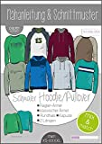Papierschnittmuster Herren Herren Mix&Match Sweater/Hoodie Schnittmuster und Anleitung als Broschüre Größe XS - XXXXL