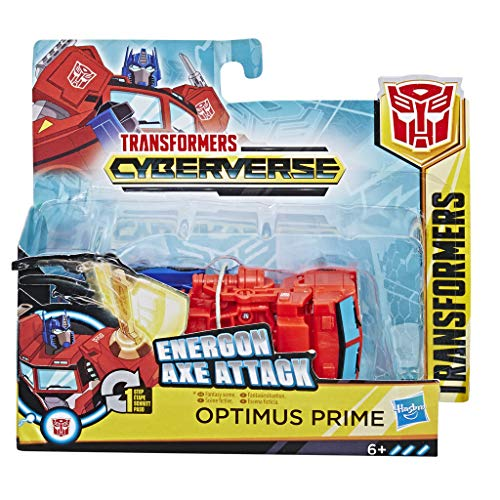 Transformers E3645ES0 TRA Spielzeuge Cyberverse Action Attackers, Mehrfarbig - Serie Transformers G1