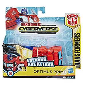 Transformers - Cyberverse 1 Step Optimus Prime (Hasbro E3645ES0)
