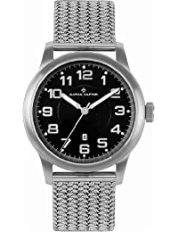 Alpha Saphir Herren-Uhren Quarz  Analog 340C
