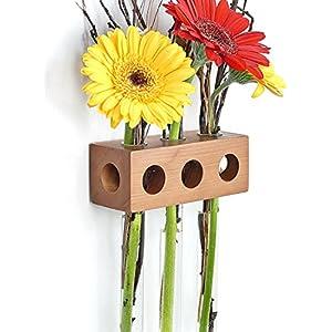 Fenstervase Apfel 3er Blumenvase Test Tube Vase Flower Vase
