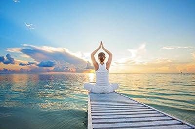 #DoYourYoga Yogamatte 183x61x0,3cm - Sehr Rutschfest aus Eco-PVC | Sehr Leicht, Schnell zusammenrollbar & Langlebig - Ideale Pilatesmatte/Fitnessmatte für Yoga Pilates & Fitness