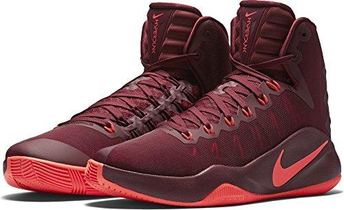 Nike 844359-680, espadrilles de basket-ball homme Rouge