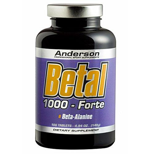 Anderson Betal 1000 Forte 100 cpr Beta Alanina da 1gr + Vitamina B6
