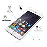[3 Pack] iPhone 6S / 6 Screen Protector, Nearpow[Tempered Glass] Screen Protector with [9H Hardness] [Crystal Clear] [Easy Bubble-Free Installation] [Scratch Resist]