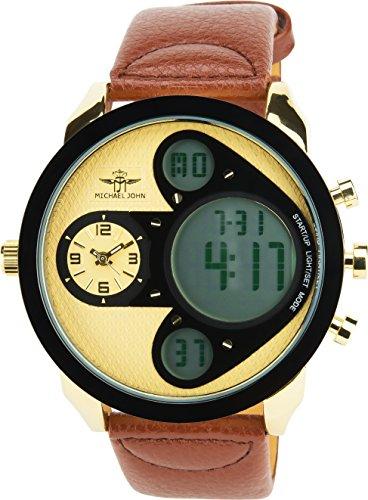 michael-john-orologio-uomo-beige-quarzo-acciaio-display-analogico-digitale-allarme-cronometro-fuso-o