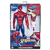 Hasbro Marvel Spider-Man - Titan Hero Power FX con Lanciacolpi da Braccio, Multicolore