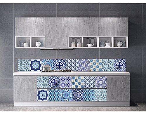 Vancore adesivi per piastrelle in stile mediterraneo per cucina e