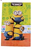 #10: Minion Exam Board, Writing Pad , Exam Pad for Kids , Minion Return Gifts (Pack of 1 Exam Board)