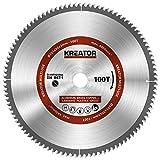 KRT020506 Kreissägeblatt Metall Holz PVC ø 305 x 30 x 2,2 mm 100 Zähne + 3 Reduzierringe
