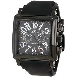 Adee Kaye Men's AK7231-MIPB (BLK) Comfort Zone Collection Watch
