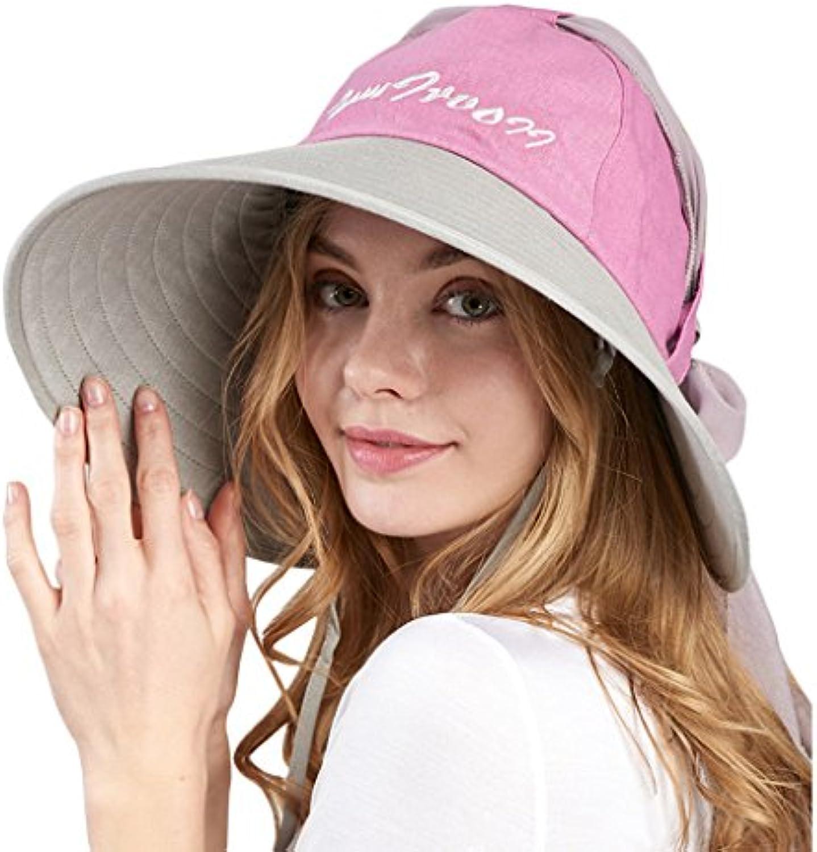 SUSHI Cappello da Donna - Cappello da Sole Antivento Visiera per Bici  Antivento con Visiera Antivento Regolabile Anti UV (Coloreee... Parent  d20a93 1b9e603e1556