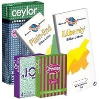 Der Kondomotheke® Try Dry Mix - 5x trockene Kondome (Fromms, Ceylor, Rilaco, World's Best) - Probierset! preisvergleich bei billige-tabletten.eu