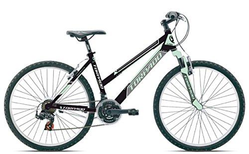 TORPADO BICICLETA MTB EARTH 26MUJER 3X 7V TALLA 38NEGRO V17(MTB MUJER)/BICYCLE MTB EARTH 26LADY 3X 7S SIZE 38BLACK V17(MTB WOMAN)