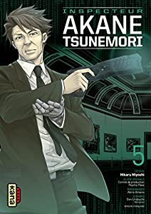 Psycho-pass Inspecteur Akane Tsunemori Edition simple Tome 5