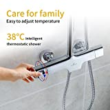 Homelody Duschsystem mit Thermostat...