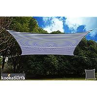 Kookaburra azul y blanco diseño de rayas resistente al agua