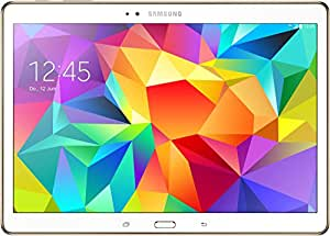 """Samsung Galaxy Tab S LTE Tablette tactile 10,5"""" (26,67 cm) (16 Go, Android, 1 Port USB 2.0, 1 Prise jack, Blanc)"""