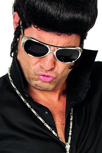 Jannes 20000 Brille Elvis Rock'n'Roll Silber