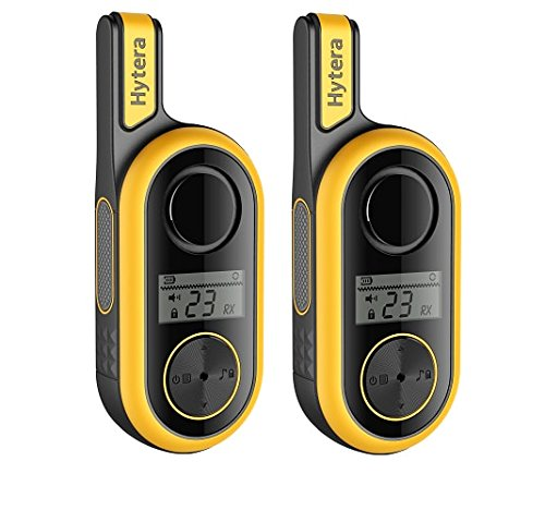 Hytera TF315 PMR446 2-Way Walkie Talkie Radio Twin Pack - Yellow