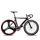 700C Rennrad Fahrrad Aluminium Legierung Rahmen Fixed Gear Feste Cog Back Riding Bahn Fahrrad