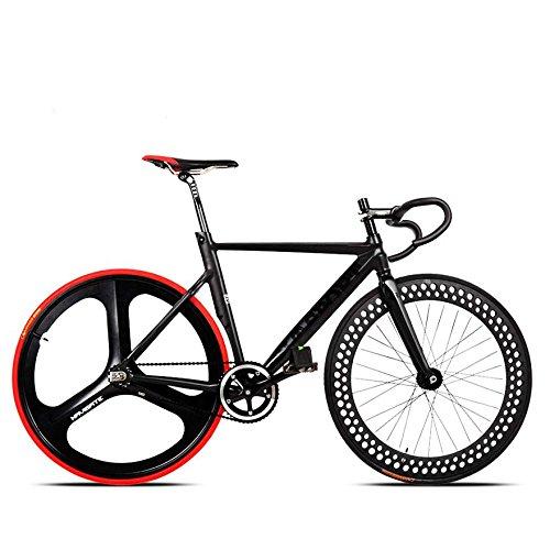 ShopSquare64 700c da Corsa Bici Bicicletta Telaio in Lega di Alluminio a Scatto Fisso Fisso ingranaggio di Nuovo a Cavallo Pista ciclabile