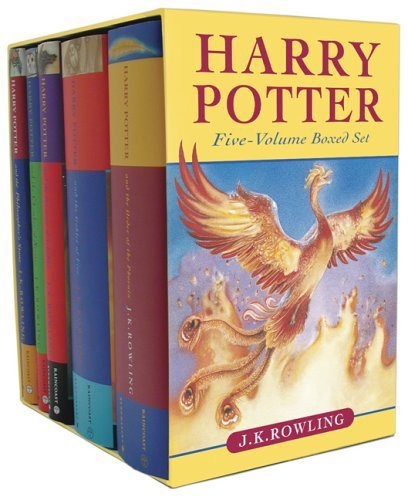 Click for larger image of Harry Potter (5 Volumes set)
