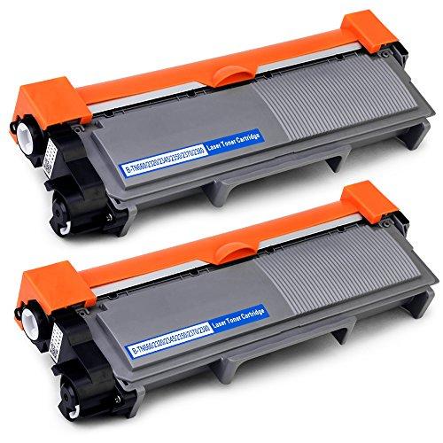 OfficeWorld TN2320 Toner TN-2320 Cartuccia del toner Compatibile per Brother HL-L2340DW MFC-L2700DW DCP-L2500D HL-L2360DN HL-L2300D HL-L2365DW MFC-L2740DW MFC-L2720DW DCP-L2540DN DCP-L2520DW, 2 Nero