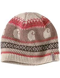 Carhartt Womens Springvale Hat - Warm Oatmeal Heather Ladies Fleece Lined Beanie CHW102238295